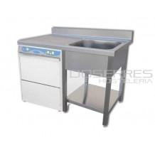 Fregadera apta para lavavajillas 1200