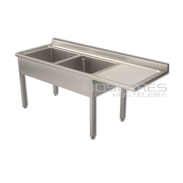 Fregadera industrial suministros menaje y mobiliario for Menaje industrial