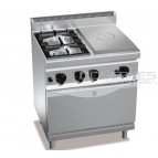 Cocina 2 fuegos + radiante + horno