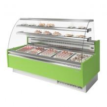 Vitrina pastelería Refrigerada Curva 18