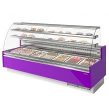 Vitrina pastelería Refrigerada Curva 25
