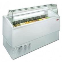 3-Vitrina profesional para helados 7R