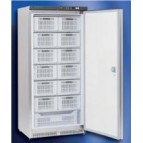 Congelador vertical gran capacidad inox cestas incluidas