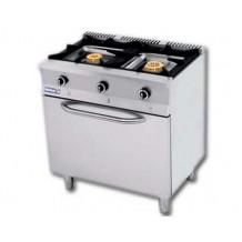 Cocina 2 fuegos+horno Repagas