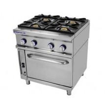 Cocina 4 fuegos+horno Repagas