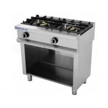 Cocina 2 fuegos + soporte Repagas