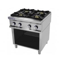 Cocina 4 fuegos sobre soporte Repagas