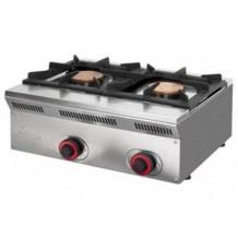 Cocina eco sobremesa 2 fuegos