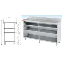 Mueble estante 1500x600
