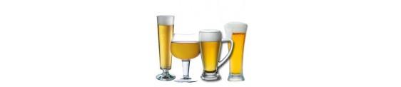 Copas, vasos y jarras de Cerveza