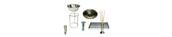 Boquillas y accesorios para churros